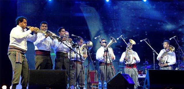 Das Guca-Trompetenfestival bietet Spaß für Jung und Alt