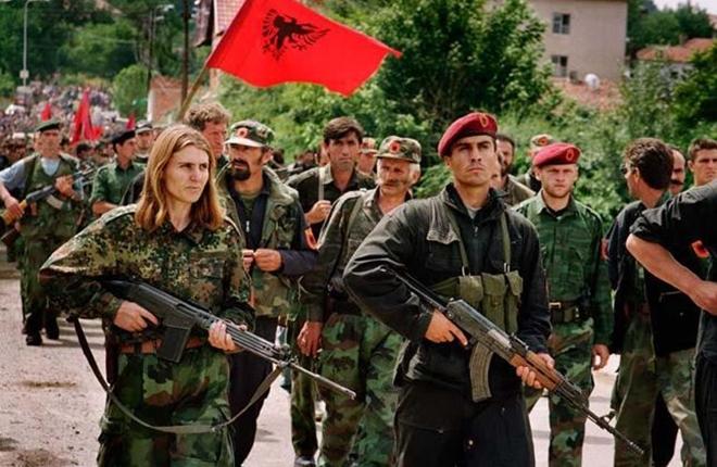 UCK-Kämpfer 1999