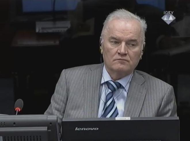 Ratko Mladic in Den Haagg