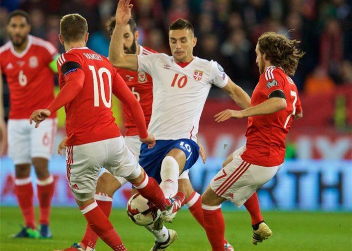 Wales Serbien
