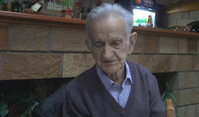 Herr Stojanovic ist 102 Jahre alt