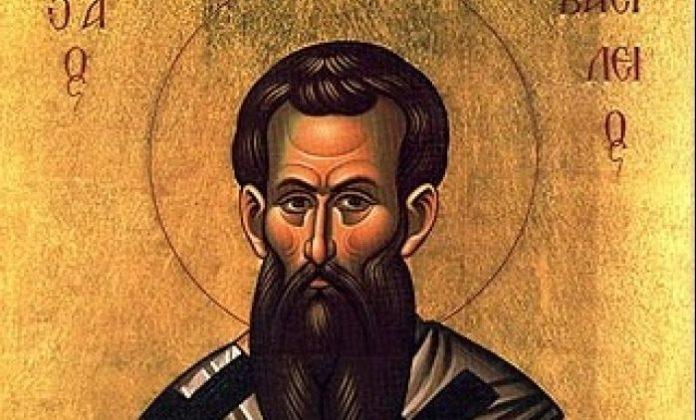 Ikone des hl. Basilius