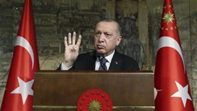 Ziemlich wütend: Recep Tayyip Erdoğan