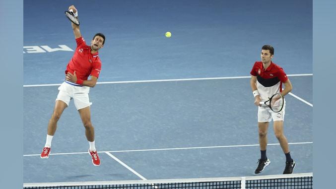 Djokovic und Cacic