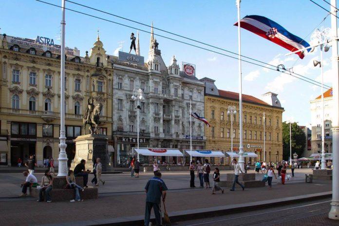 Zagreber Stadtzentrum