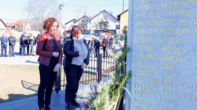 Im Gedenken an die Opfer von Brod
