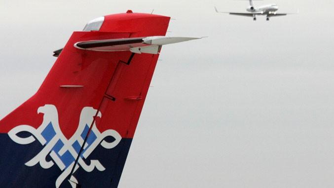 Flugzeug von Air Serbia