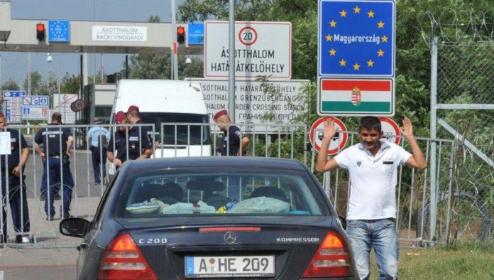 auto-an-der-grenze-zu-ungarn