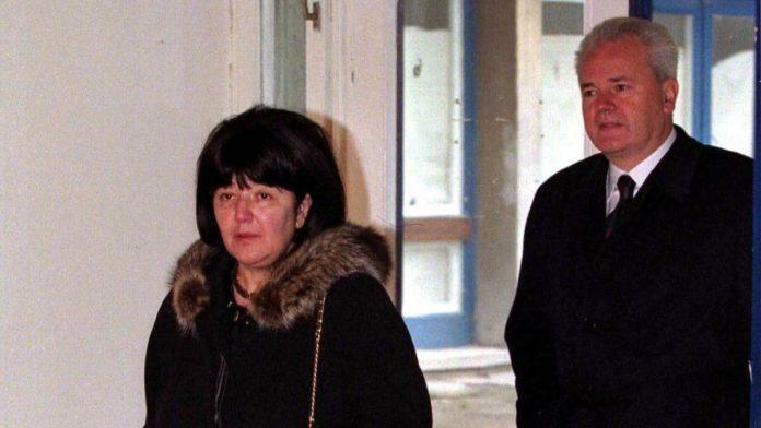 Mira Markovic und Slobodan Milosevic