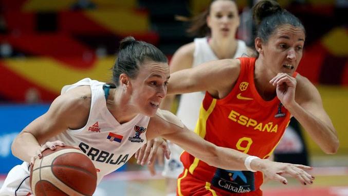 Serbien siegte im Halbfinale gegen Spanien