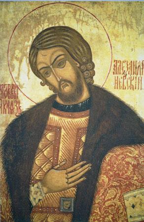 Der heilige Aleksandar Nevski