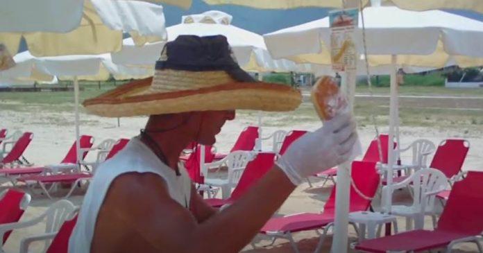 Gebäckverkauf am Strand ist ein lukratives Geschäft