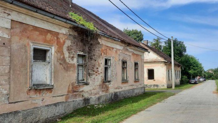 Hrvatska Dubica ist verlassen