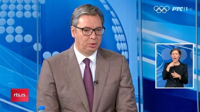 Der serbische Präsident äußerte sich im Interview zu vielen Themen aus Wirtschaft und Außenpolitik