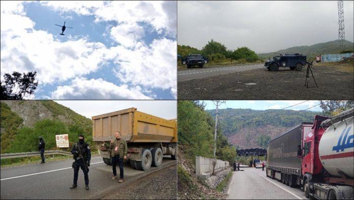 Kosovarische Behörden erzwingen die Abnahme serbsicher Nummernschilder