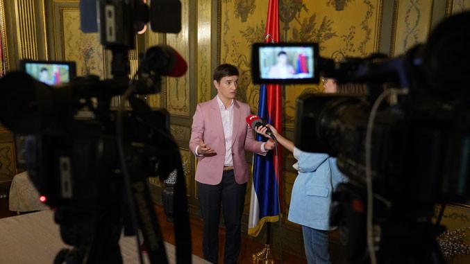 Serbiens Ministerpräsidentin spricht morgen vor der UN