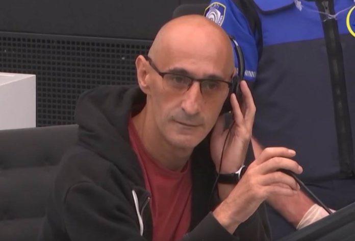Salih Mustafa auf der Anklagebank