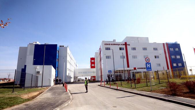 Covidklinik in der Vojvodina