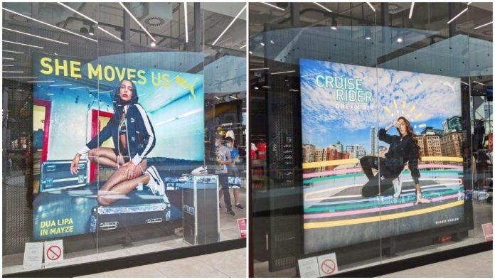 Werbekampagne mit Dua Lipa