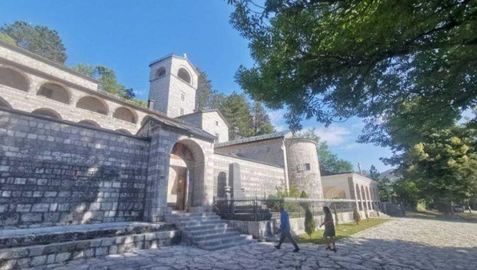 Die Lage am Kloster Cetinje ist angespannt