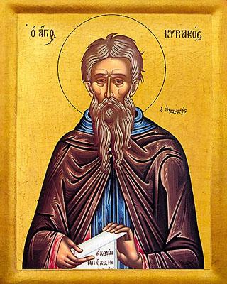 Kyriakos lebte lange Zeit als Einsiedler