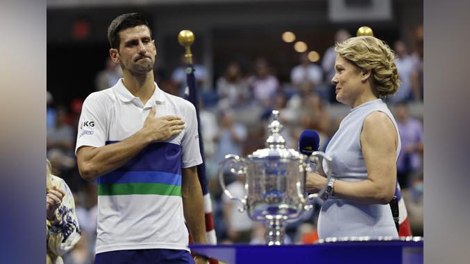 Am Ende reichte es für Novak nicht für den Pokal