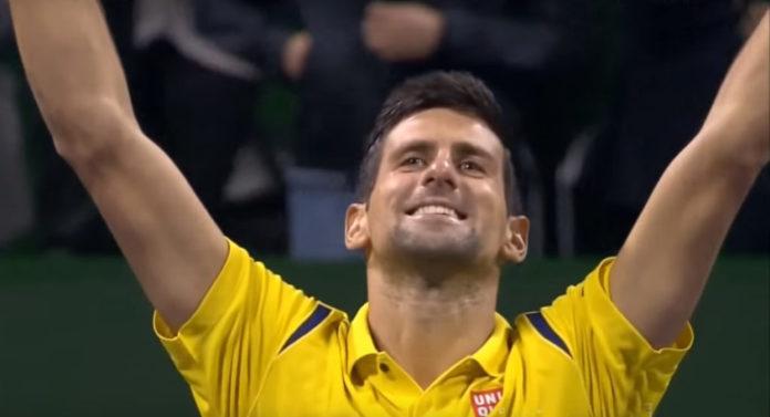 Novak ist auf dem Weg zum Golden Slam