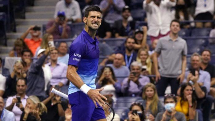 Novak wurde fortwährend aus dem Publikum provoziert