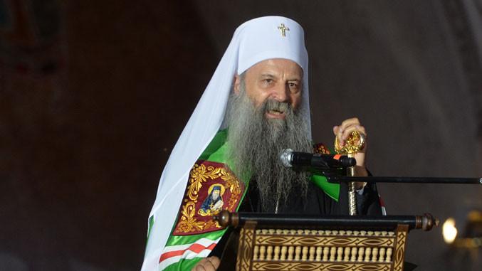 Patriarch Porfirije war am Wochenende in Cetinje