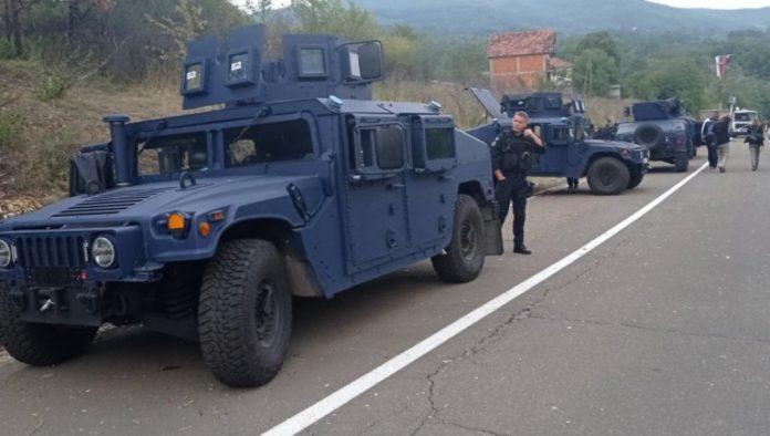 Die kosovo-alabnischen Spezeialeinheiten müssen abziehen