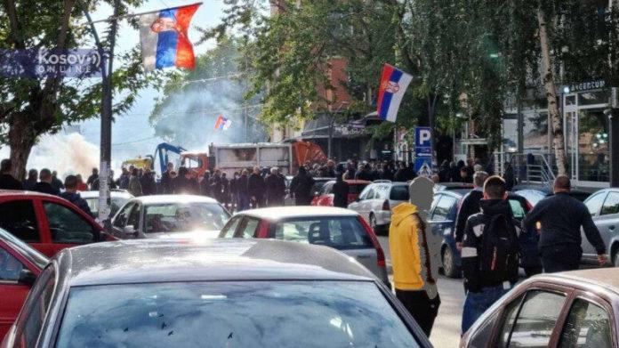 Neuerlicher Zusammenstoss zwischen ROSU und serbischen Demonstranten