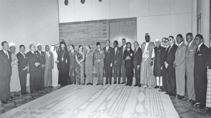 Bei der Gründung der Blockfreien waren viele prominente Staatschefs der 1960er in Belgrad