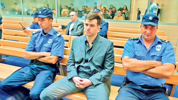 Milorad Legija Ulemek vor Gericht